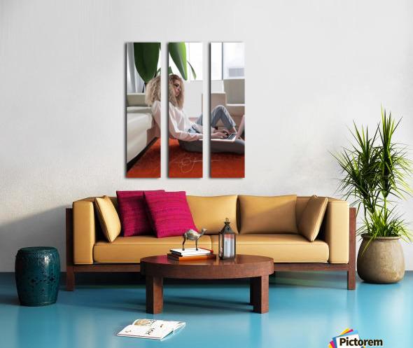 college dorm Split Canvas print