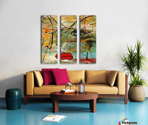 2828   colors Split Canvas print
