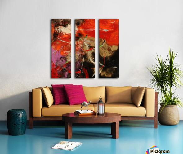 3670   opulent Split Canvas print