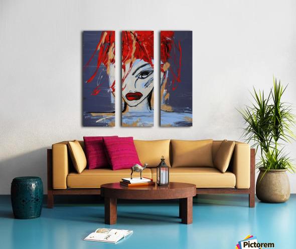3462   martyne Split Canvas print