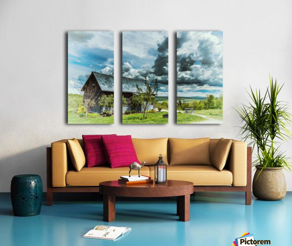Maison du Rebut Global Split Canvas print