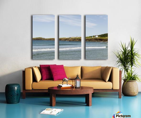 Elliston Newfoundland Coastline 15 Split Canvas print