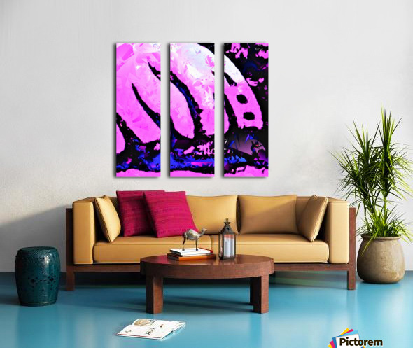 Pink Fingers - by Neil Gairn Adams Split Canvas print