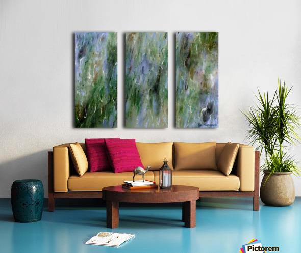 Withdrawn Split Canvas print