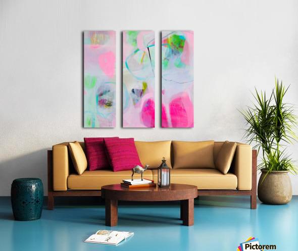 Kayleigh Split Canvas print