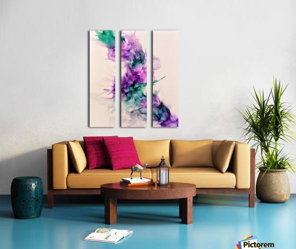 Calypso Split Canvas print