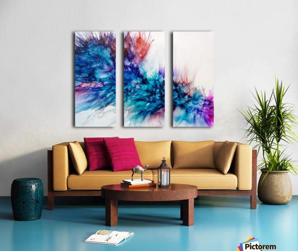 Lost in Emotion Split Canvas print