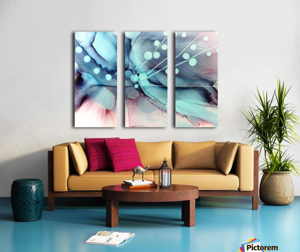 Sea Dance Split Canvas print