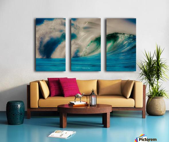 Power Split Canvas print