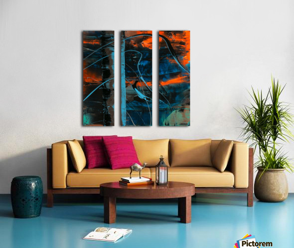 3117   mine Split Canvas print