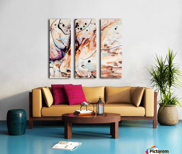 Sophia Quatre Split Canvas print