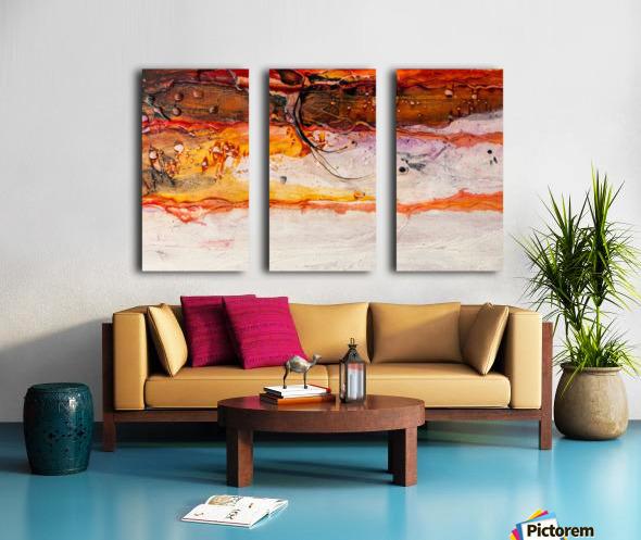 Sophia Huit Split Canvas print