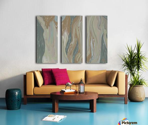 Walk away Split Canvas print
