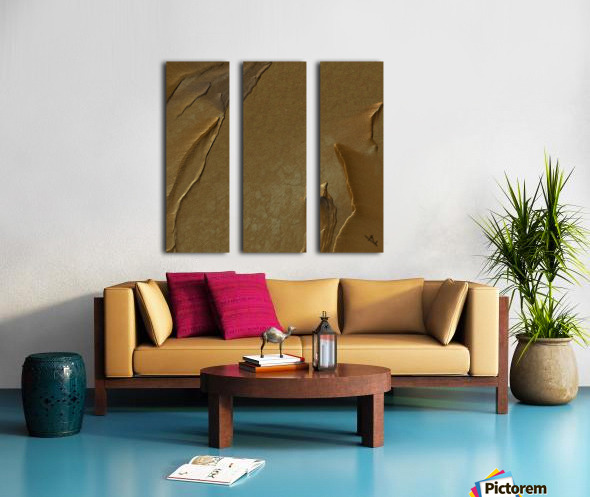 Sand mirage Split Canvas print