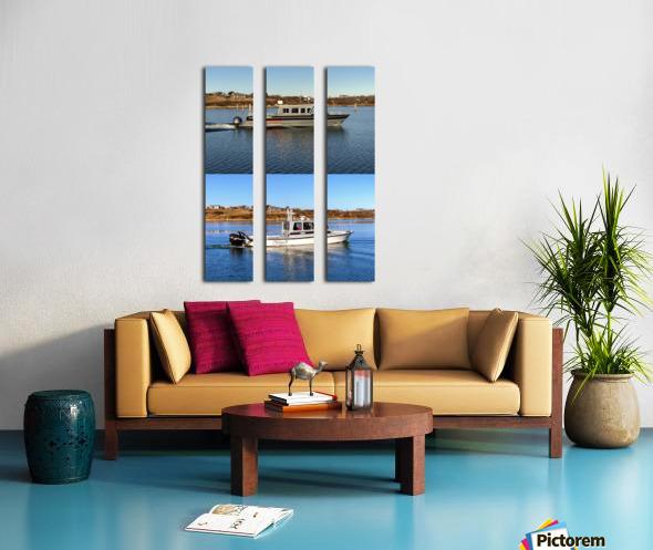 Cuttyhunk Vessels KMB 20x30 ACRYLIC 4 PRINT Split Canvas print