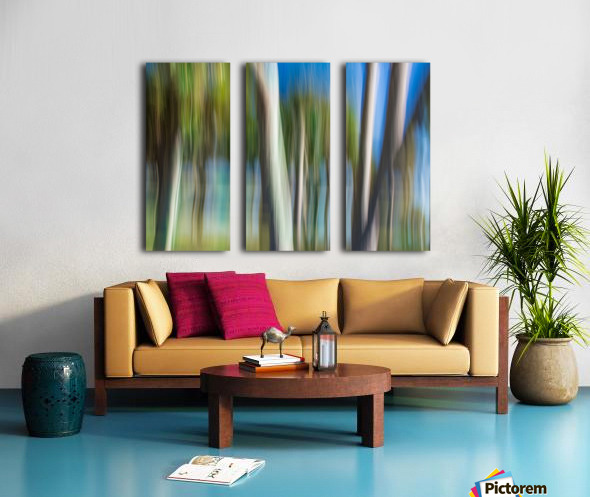 Moving Trees 31 Landcape 52 70 200px Split Canvas print