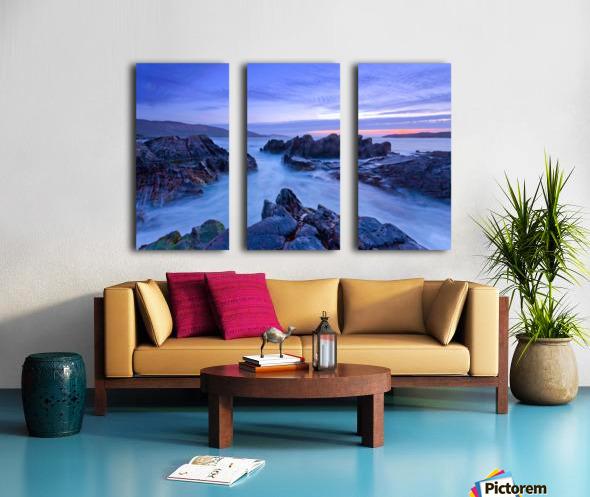 C 648 Beara Twilight Split Canvas print