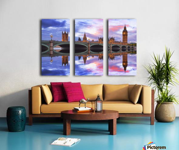 LON 005 Big Ben  Split Canvas print