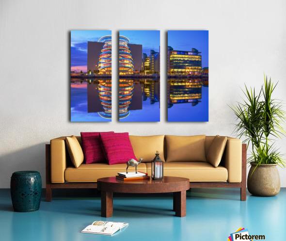 D 249 Convention Centre_1549660946.02 Split Canvas print