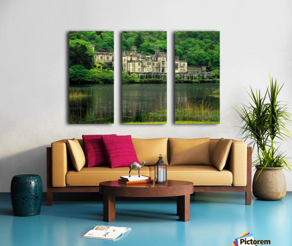 G 021 Kylemore Abbey Split Canvas print