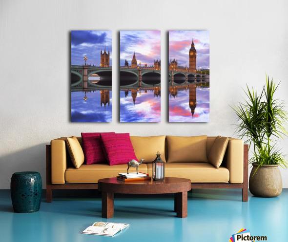 LON 005 Big Ben _1549702153.87 Split Canvas print
