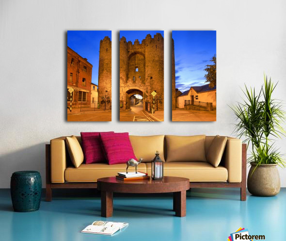 LH 034 St.Lawerence Gate Split Canvas print