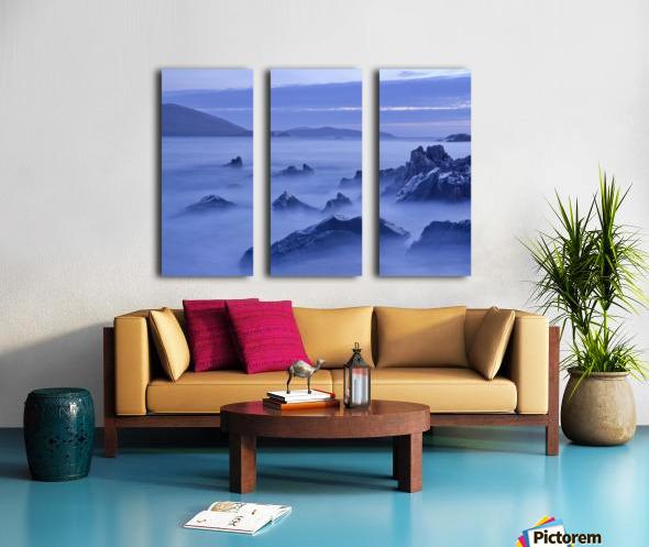 C 649 Beara Twilight Split Canvas print