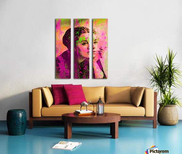 ADELE Split Canvas print