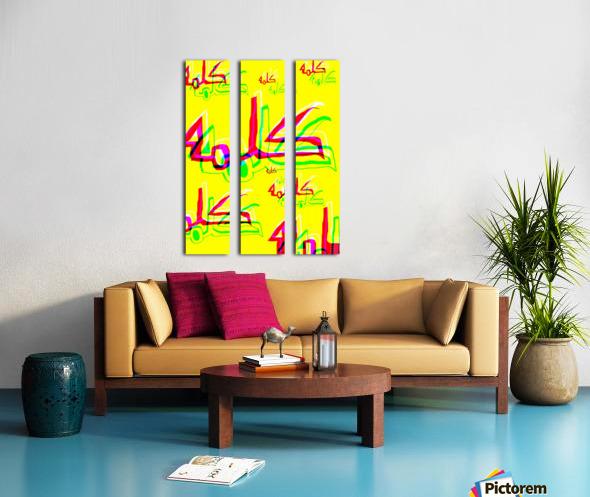 Add & Temoty Split Canvas print