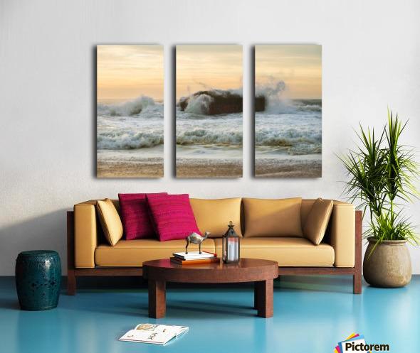 SEA BUNKERS  Split Canvas print