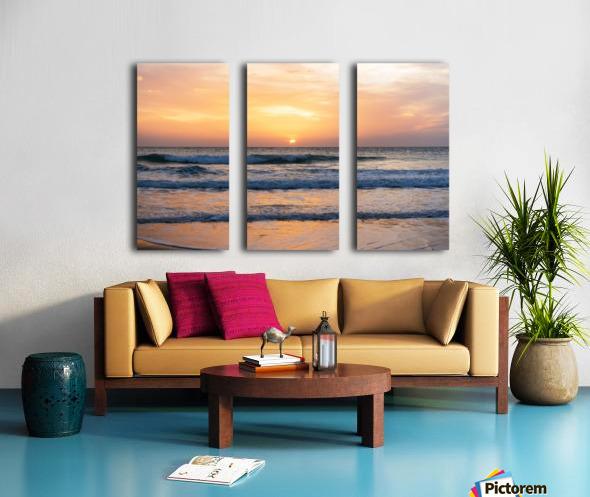 SUNSET AT EL PALMER Split Canvas print