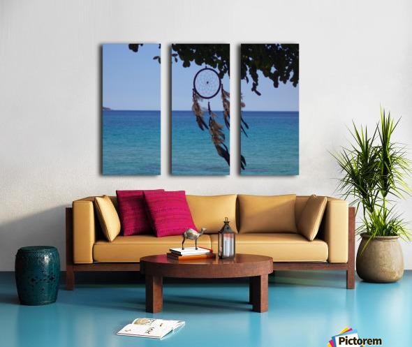 Dreams by the sea Split Canvas print
