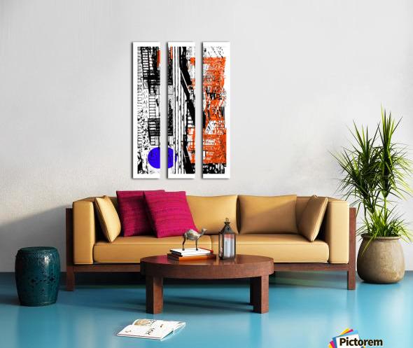 New York SoHo  Split Canvas print