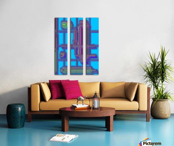 The Kunstruct Split Canvas print