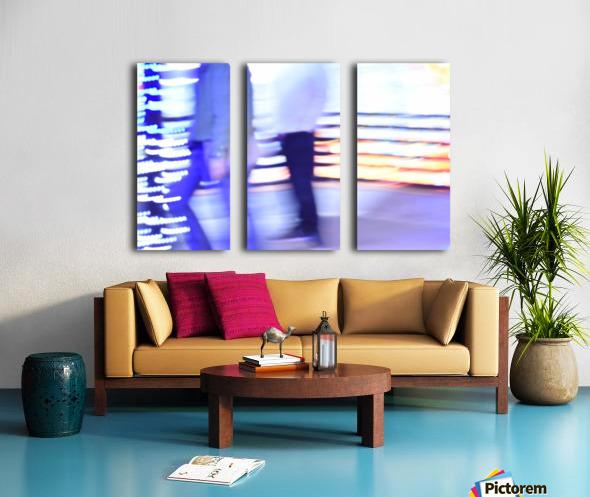 Move Split Canvas print