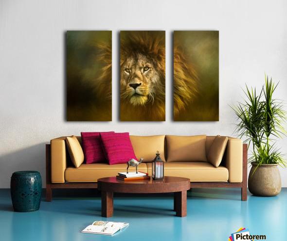 Lion King Split Canvas print