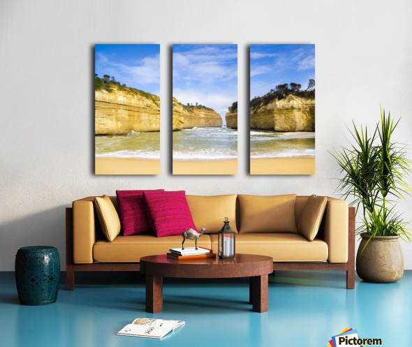 Great Ocean Road Split Canvas print