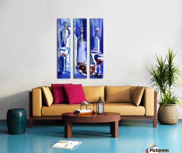 Beaujolais Nouveau Split Canvas print