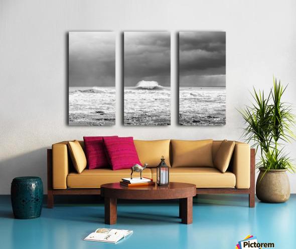 ROGUE WAVE Split Canvas print