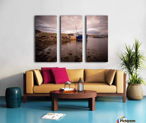 Grand Etang Split Canvas print