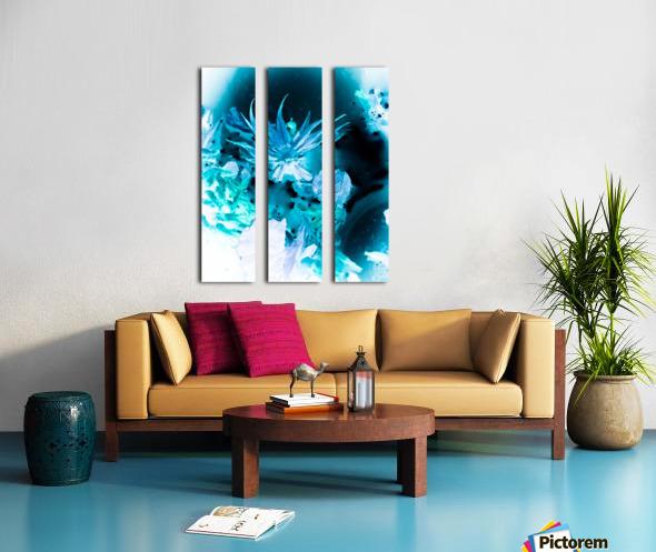 Bleu Bird Ingnite  Toile Multi-Panneaux