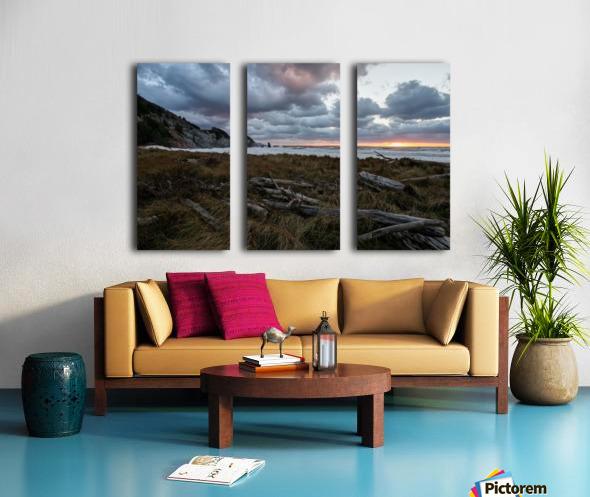 Presquile Sunset Split Canvas print