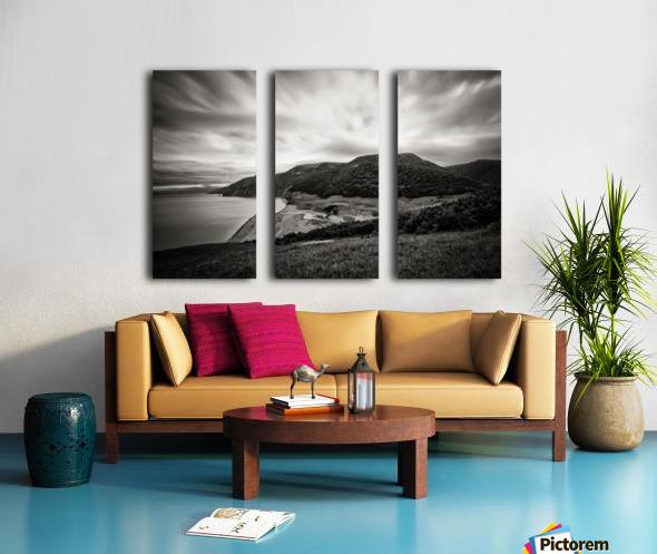 Pollets Cove Split Canvas print