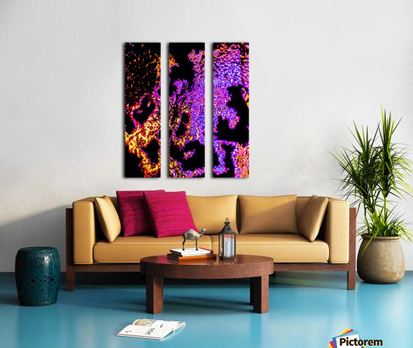 Electric Man Split Canvas print