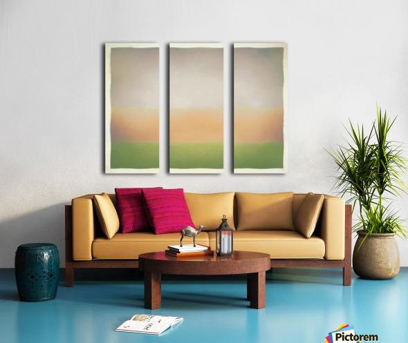 Stratified Split Canvas print