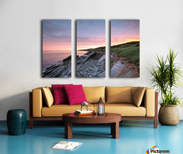 Fire Sky Split Canvas print