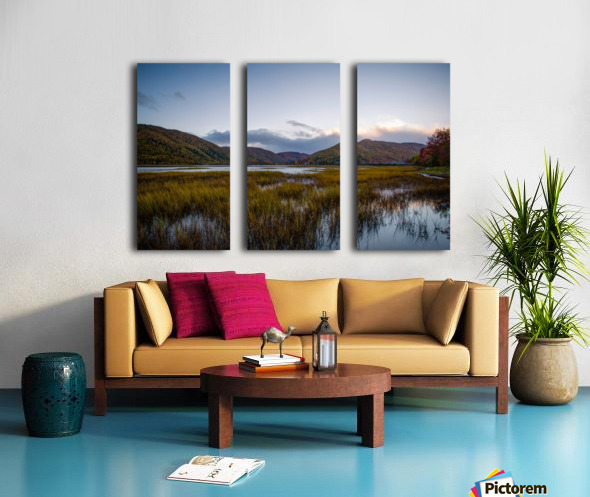 Ingonish valley  Split Canvas print