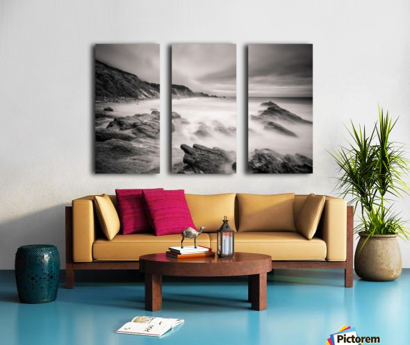 Sea of ghosts Split Canvas print