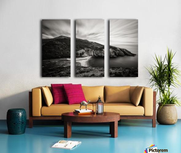 Fishing Cove Split Canvas print