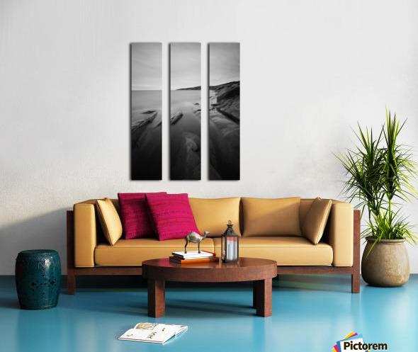 Glassy Split Canvas print
